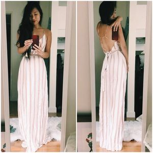 {majorelle} strappy wrap maxi dress